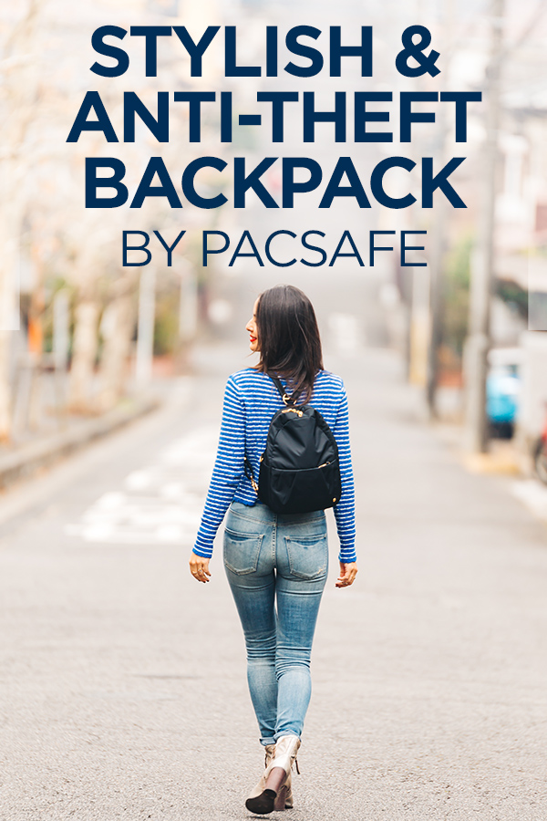 Stylish and Antitheft Backpack for Women by Pacsafe