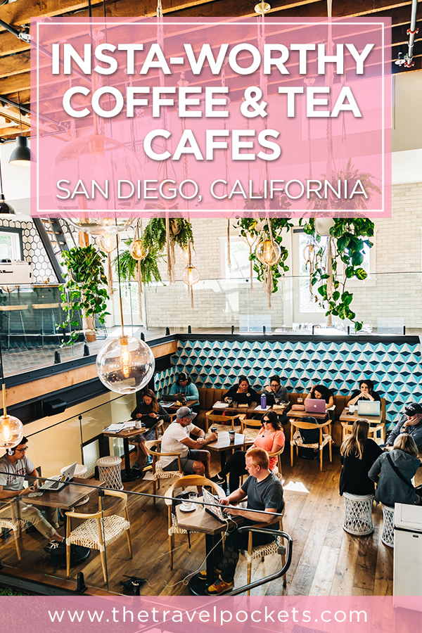 Coffee and Tea Cafes in San Diego, California