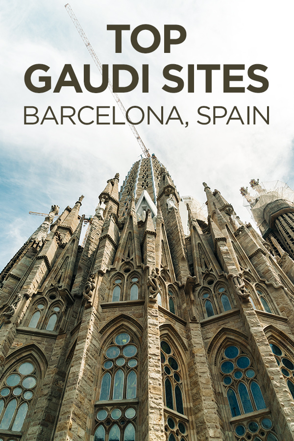 Top Antoni Gaudi Sites in #Barcelona #Spain #Europe