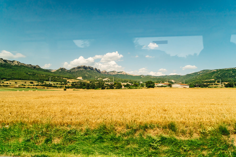 The agricultural landscapes of Spain
