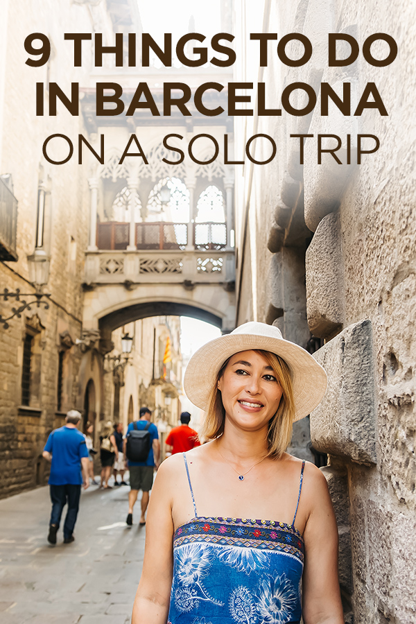 Things To Do in #Barcelona on a #Solo Trip