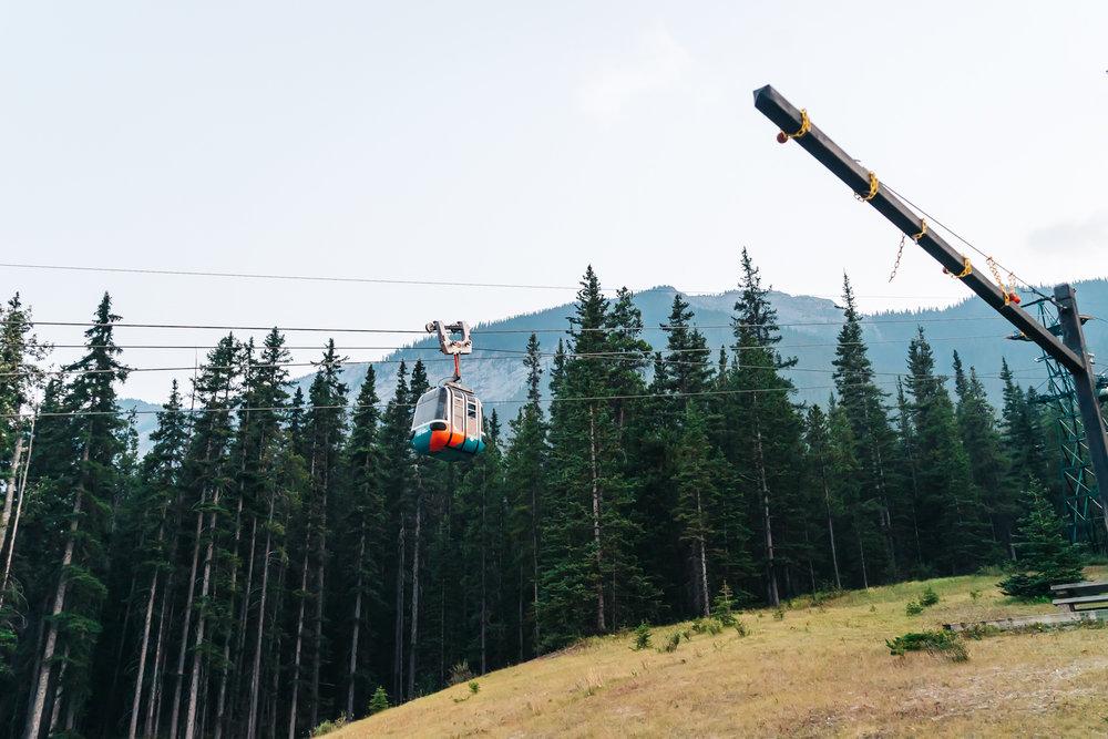 Fast and secure Banff Gondola
