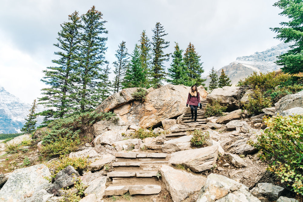 rockpile trail banff canada