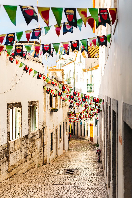 Charming neighborhood of Alfama