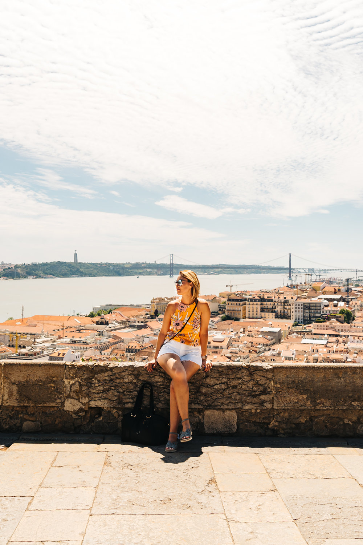 Panoramic views from Castelo de S. Jorge
