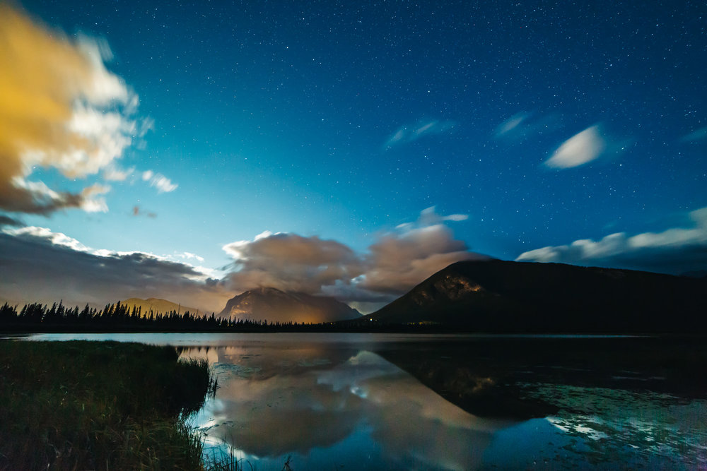 Night Photography Banff National Park #Banff