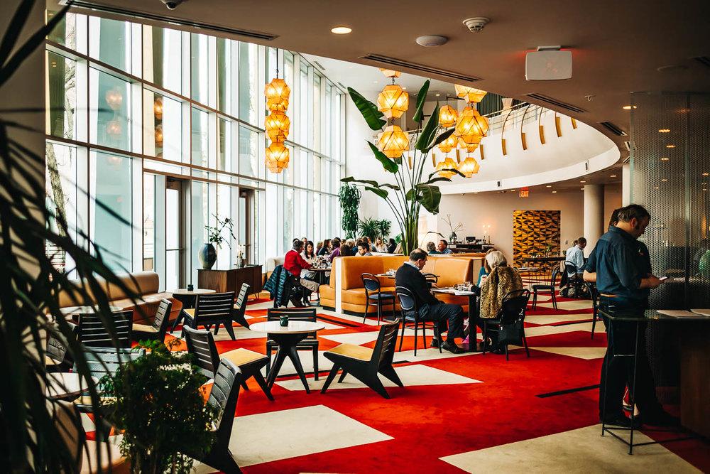 The Durham Hotel Lobby