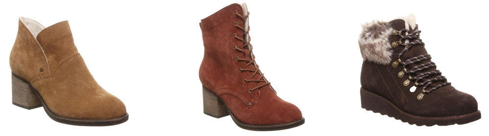 Bearpaw Boots Fall Winter