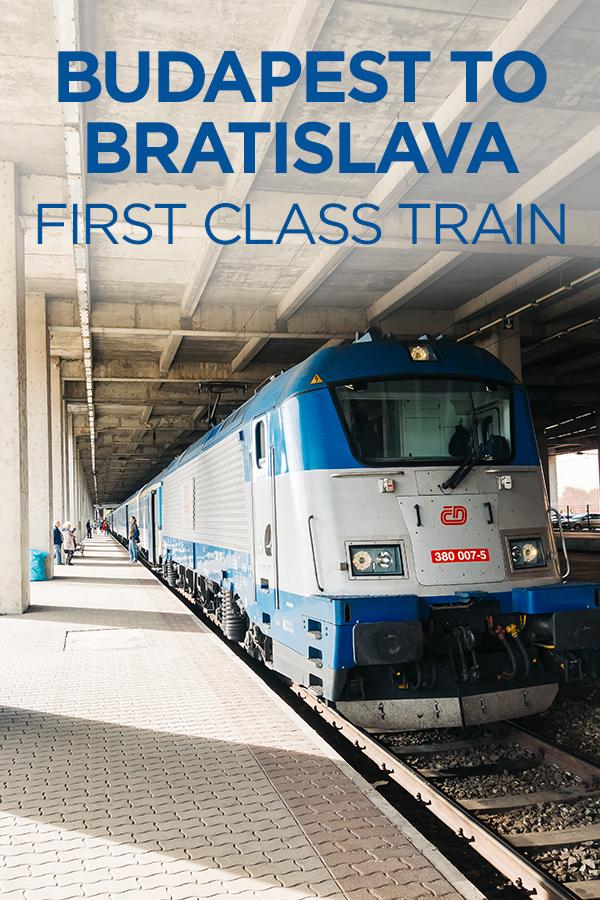 #Budapest #Bratislava #firstclass #train