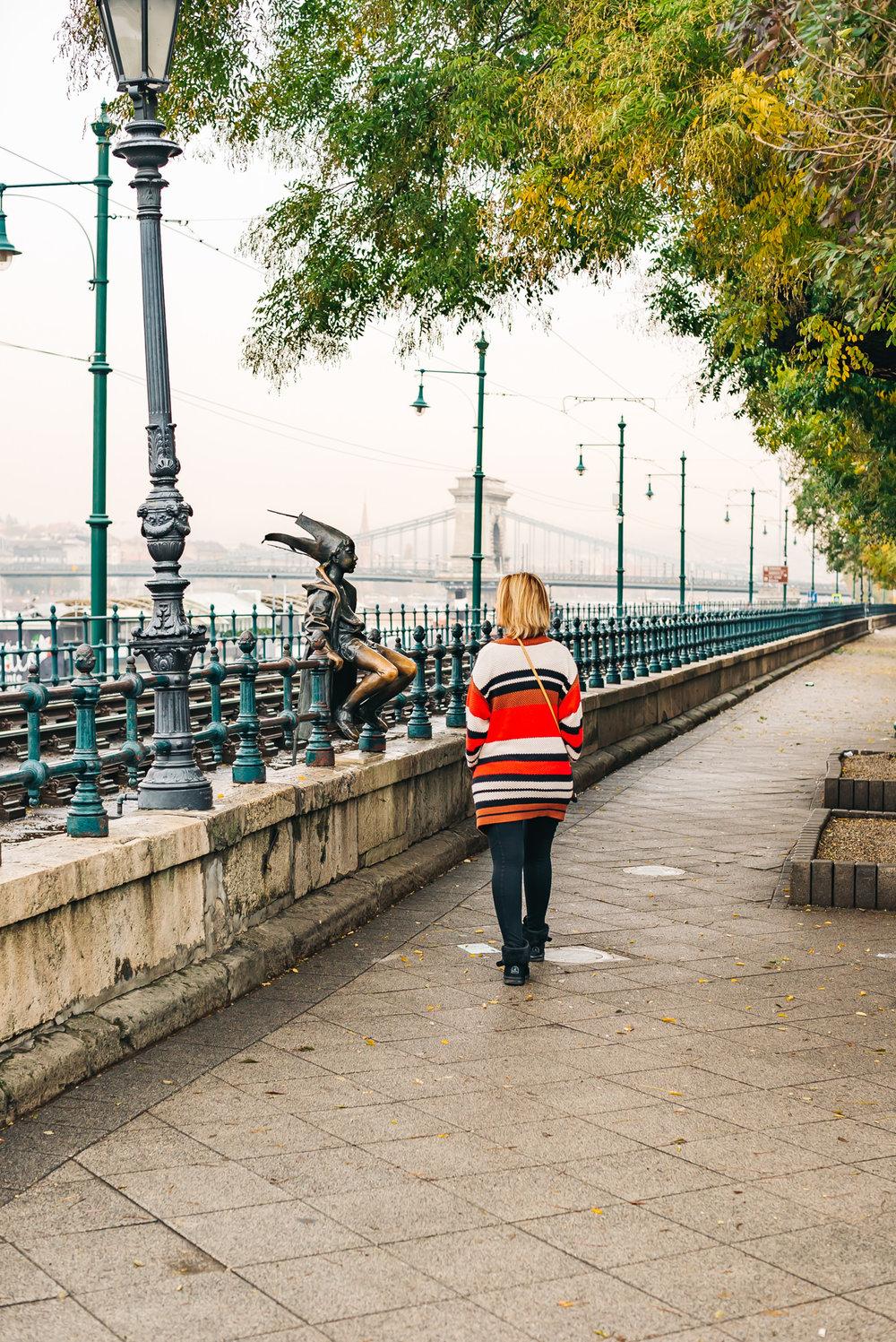 Little Princess #statue #Budapest #Hungary