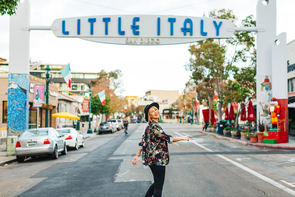 Little Italy San Diego, CA