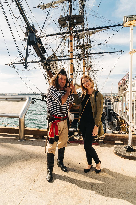 Swordfish the Pirate