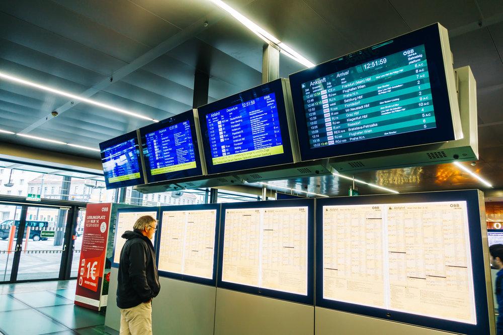 Wien Hbf (Vienna, Main Station, Austria