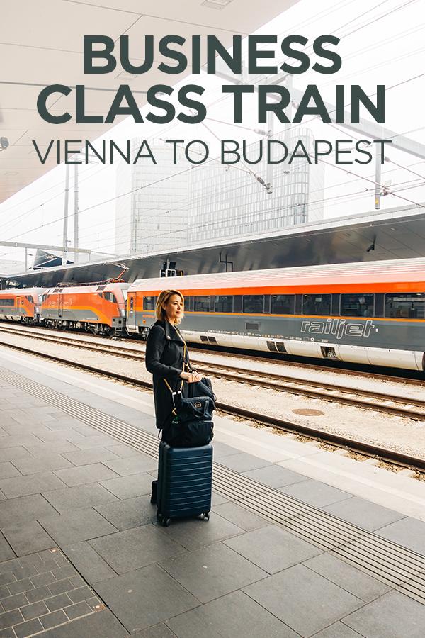 Business Class #Train #Vienna #Budapest