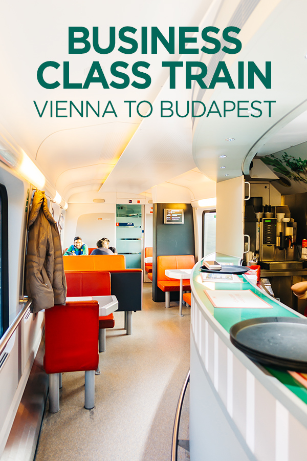 Business Class #Train #Vienna #Budapest