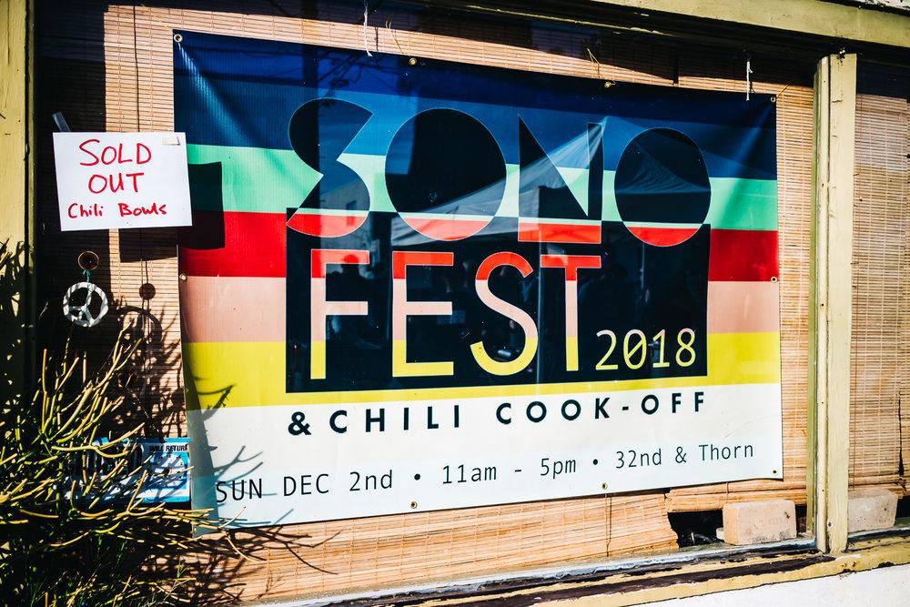 San Diego SoNo Festival 2018 #chilismackdown #sonofest #southpark #northpark