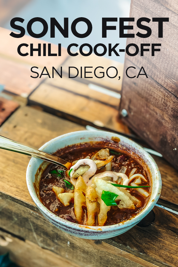 San Diego SoNo Festival #chilismackdown #sonofest #southpark #northpark