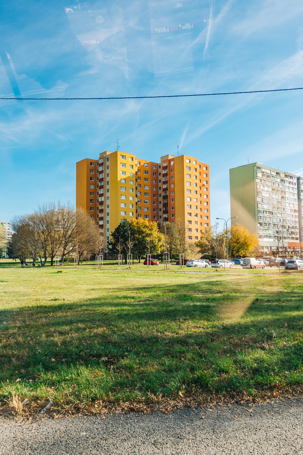 Petrzalka prefab building where Marec lives