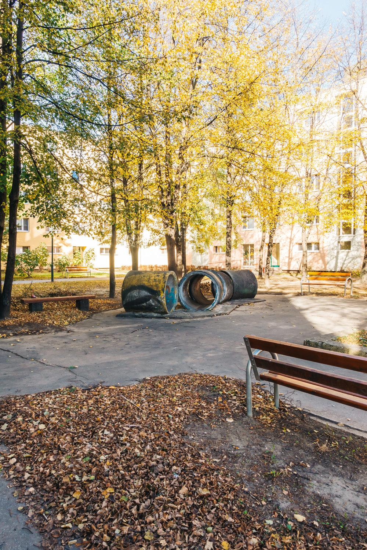 Marec's childhood playground