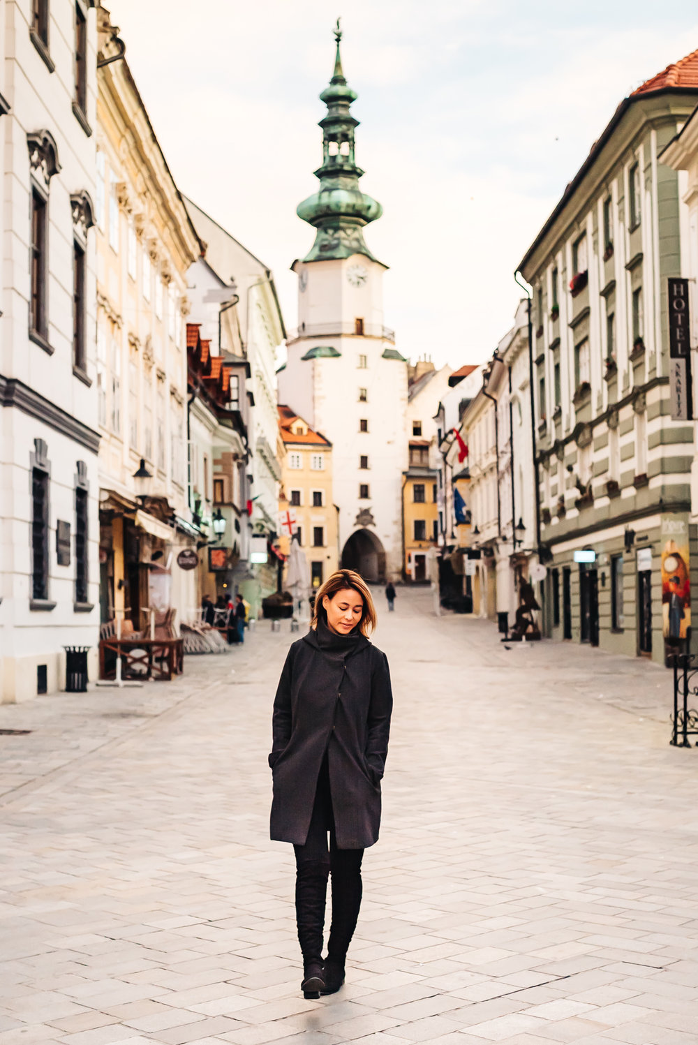 Walking the streets of Old Town