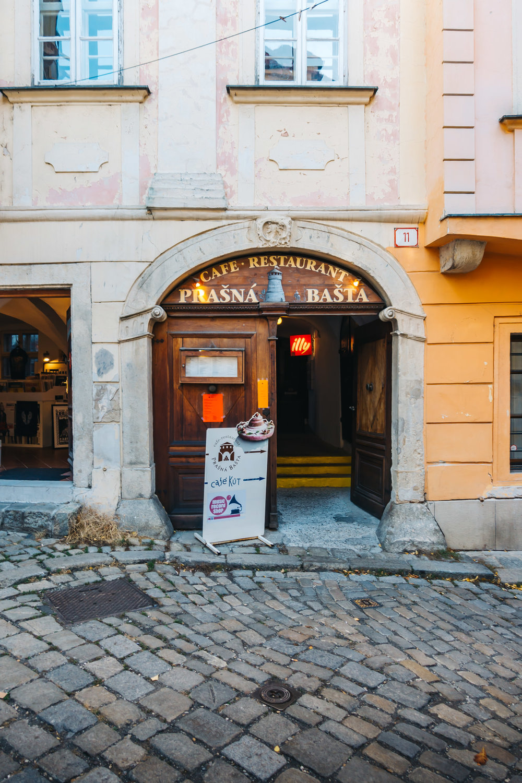 Prasna Basta in Old Town Bratislava