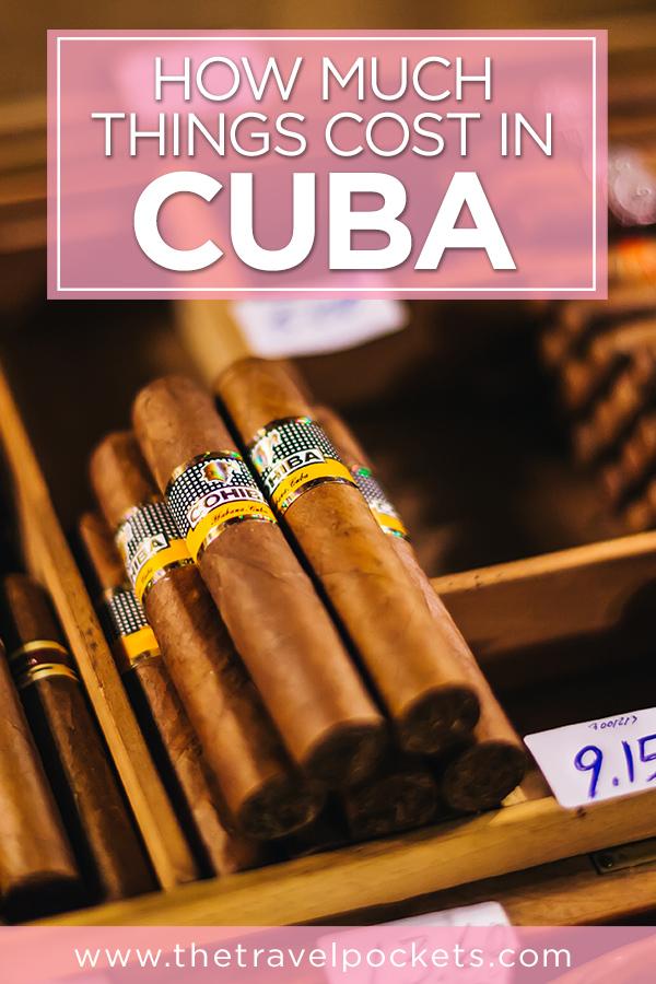 How Much Things Cost in #Cuba #Havana #Caribbean