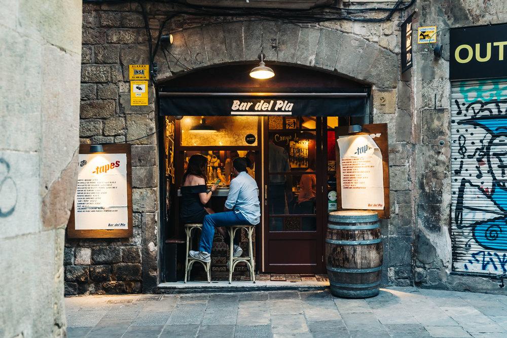 Bar del Pla in Barcelona