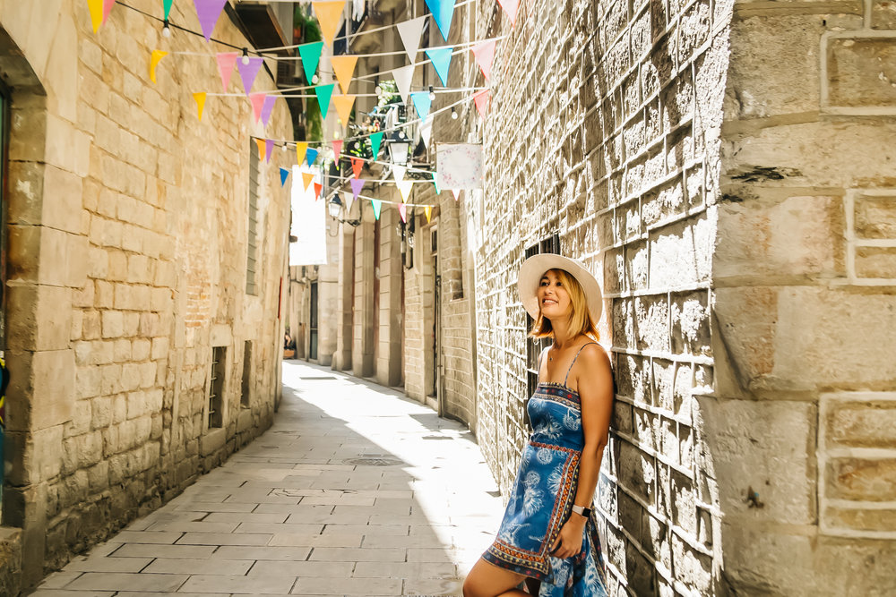 Photoshoot tour in Barcelona