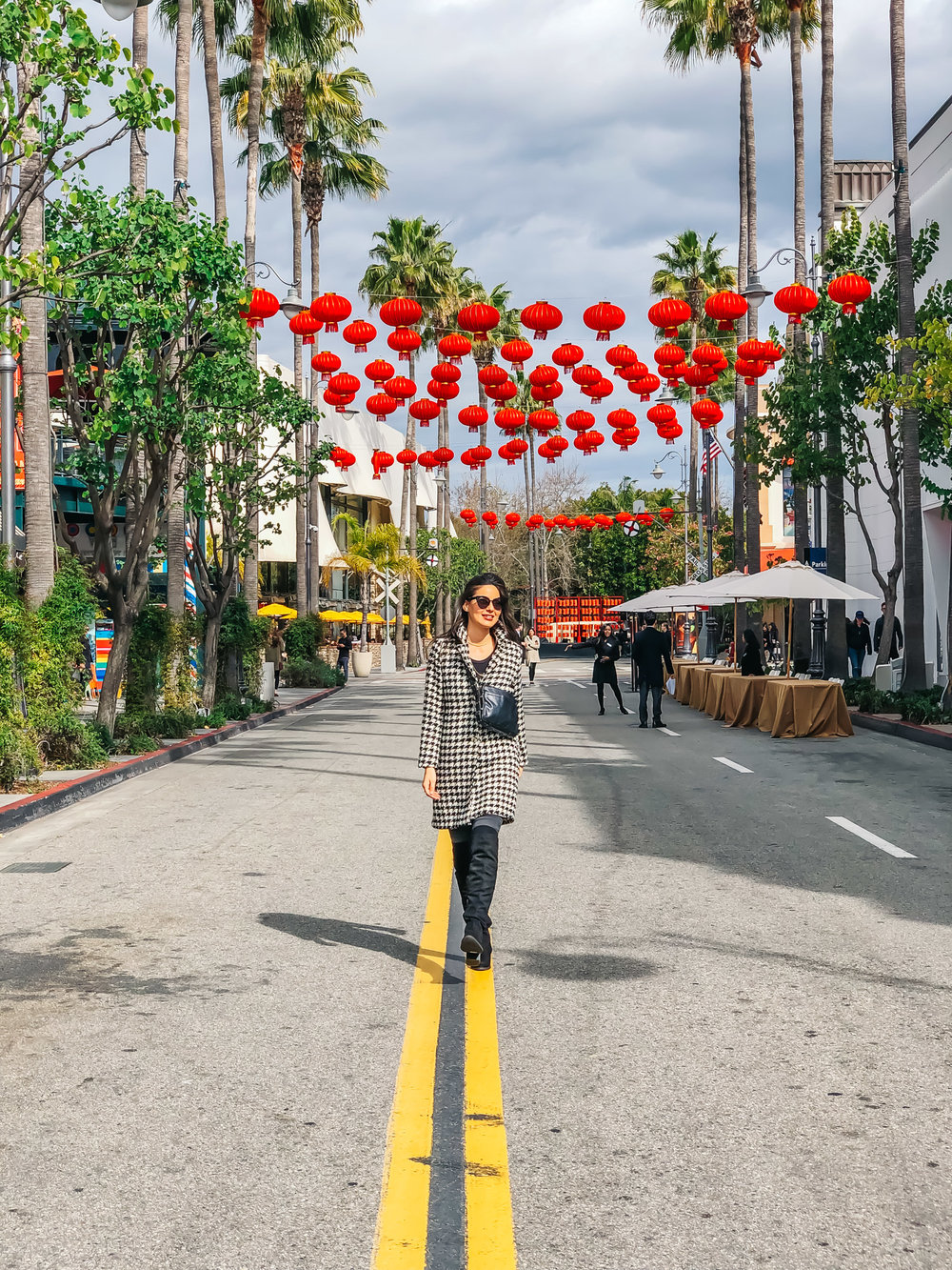 Chinese New Year Decor at the Grove