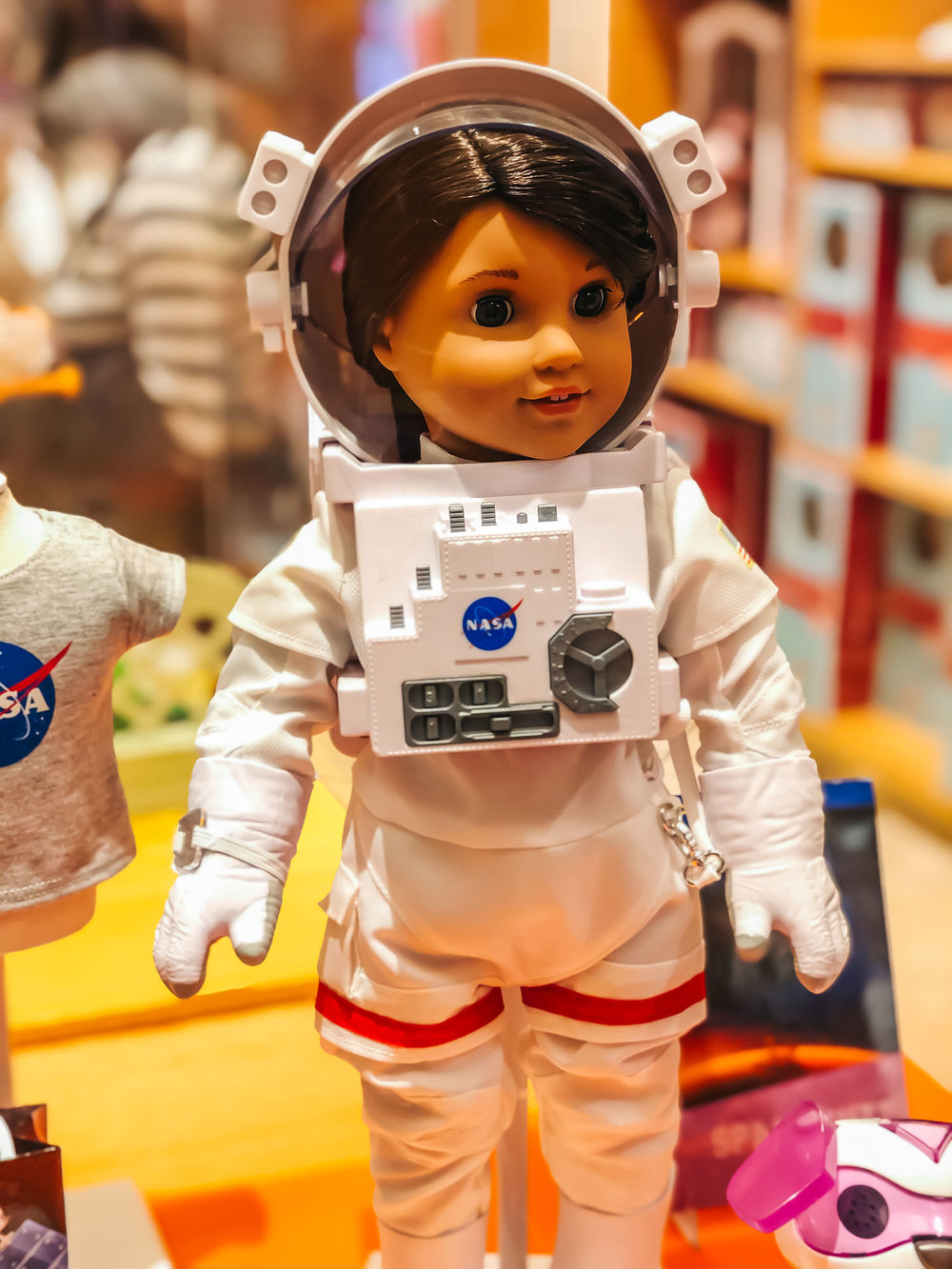 Astronaut Doll at the American Girl Place
