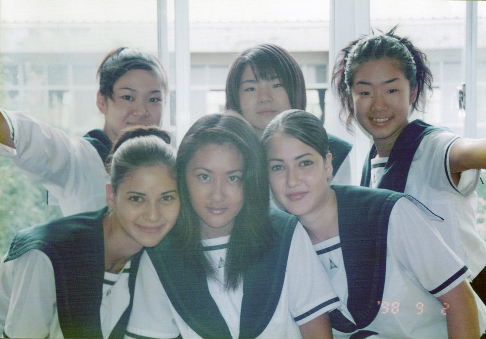 We took this photo before we went on staage for the school's Bunkasai