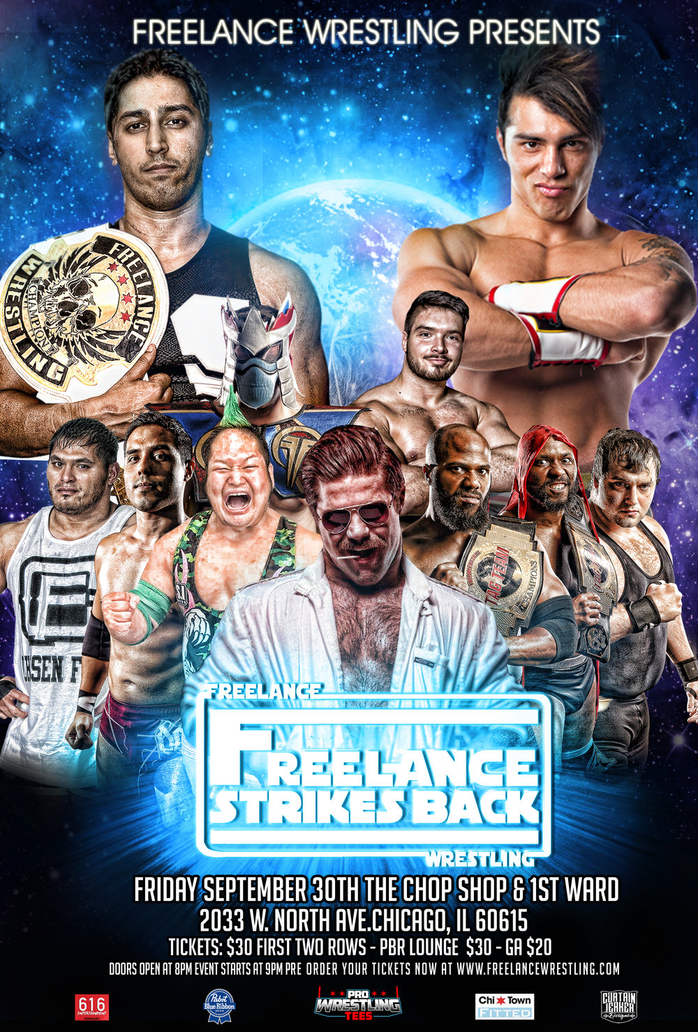 Copy of Freelance Wrestling