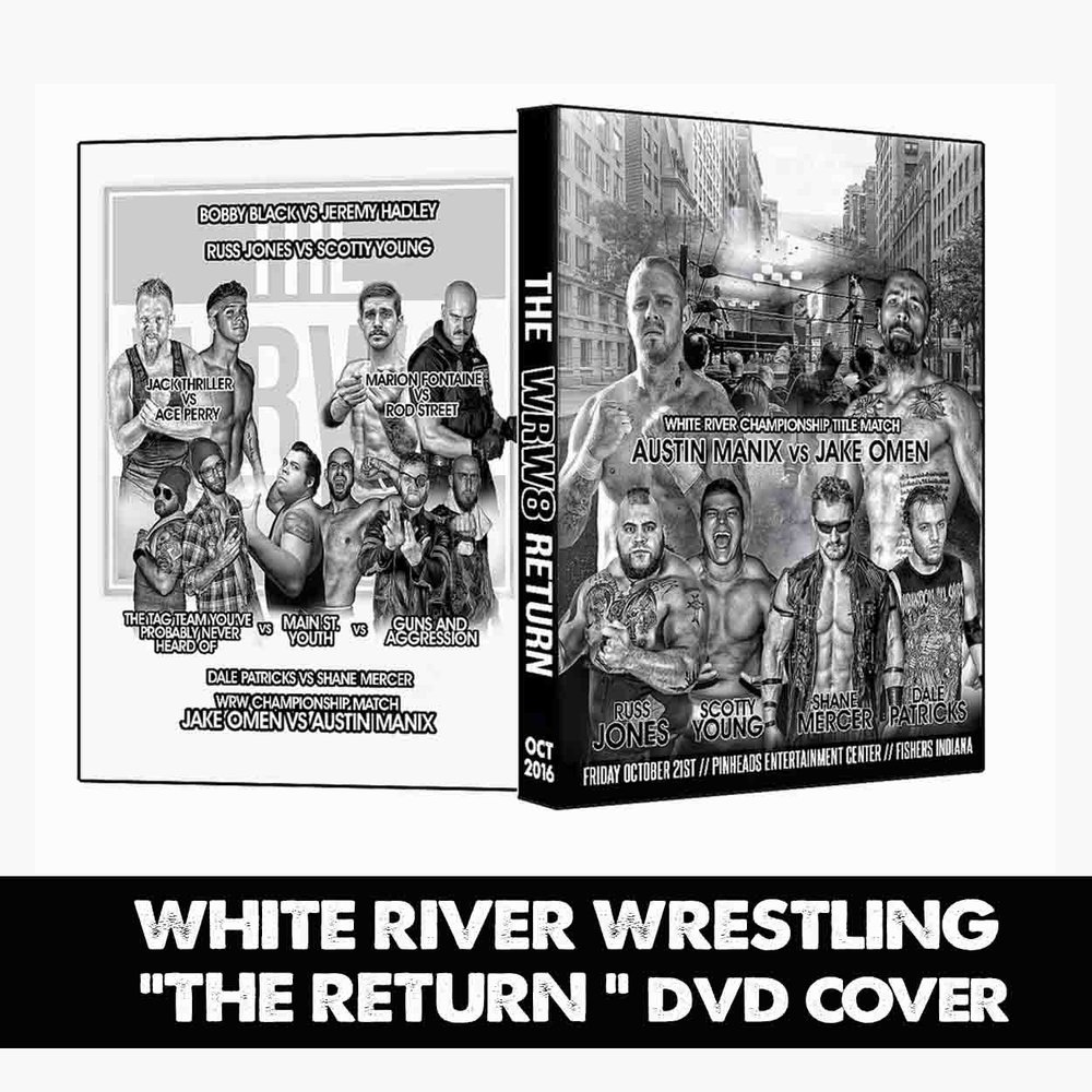 The show was a success, & the fans are talking about the main event. Make sure that those who weren't in attendance can get their hands on a DVD to witness what they missed. All DVD cover art will match that of the event media.