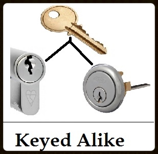 Smithlock Locksmith Dublin Keyed alike locks