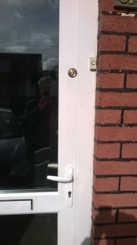 Deadlock for uPVC door