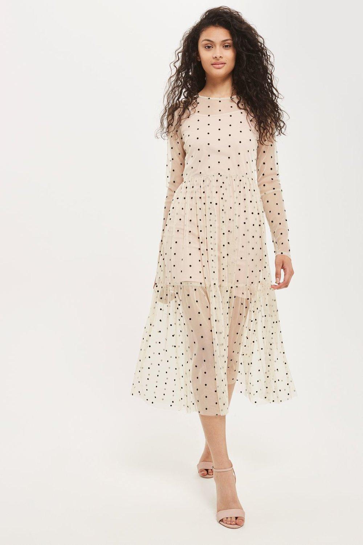 Lola Midi Overlay Dress by Lace & Beads