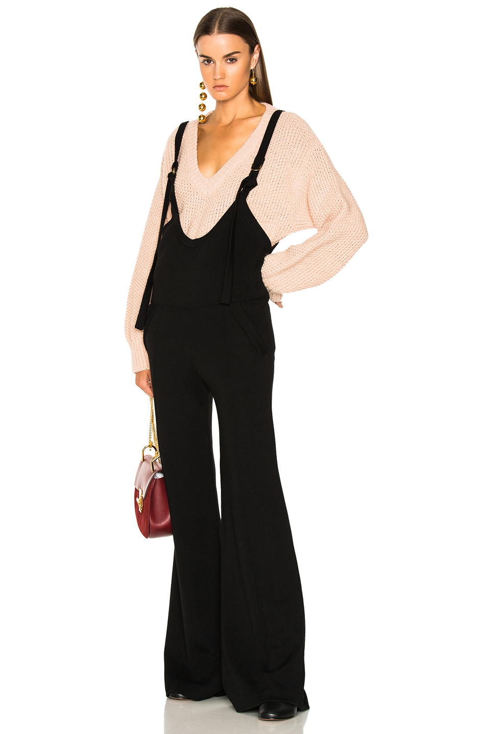 CHLOE Fluid Knit Jumpsuit