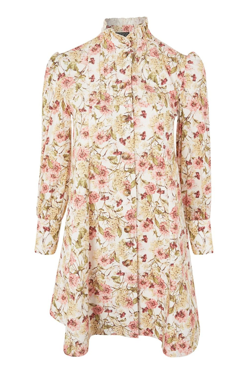 Topshop AW17 Printed Shirt Dress