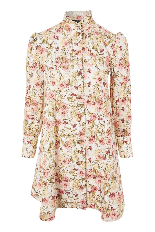 Topshop AW17 Printed Shirt Dress