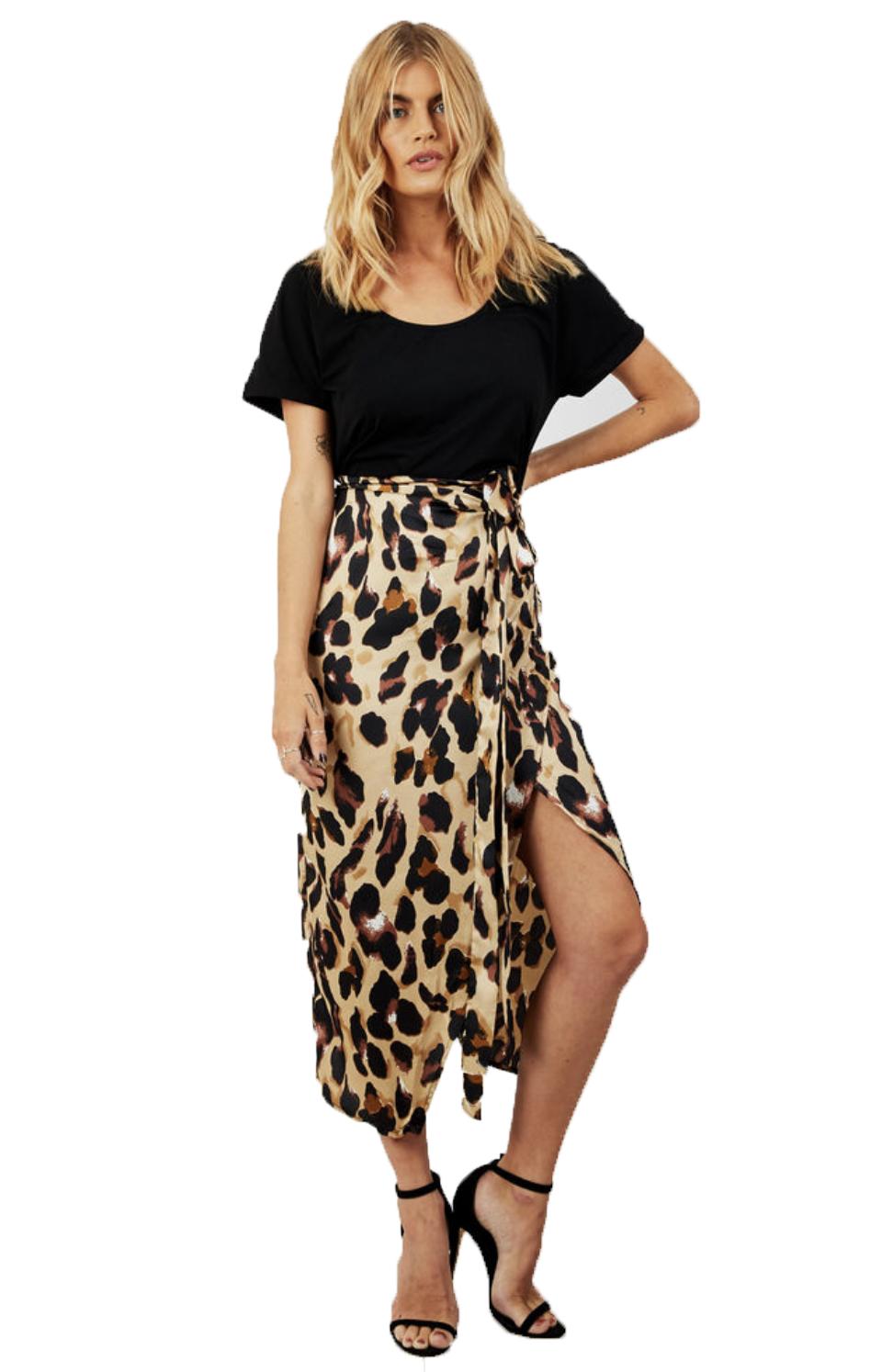 SilkFred Mix Wrap Leopard
