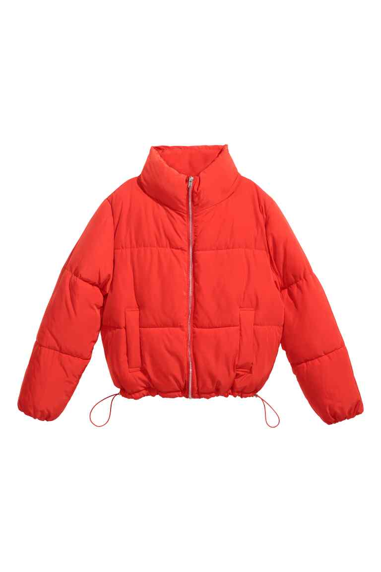 HM Padded Jacket Red