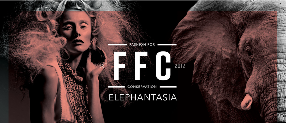 Follow @FashionforConservation and @Elephantasia2018