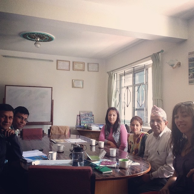 Meeting with the folks of @secardnepal, another project of @vibrantvillagefoundation. Super sweet and helpful! #allinthefamily #secardnepal #vibrantvillage #participatorydevelopment #pra #ilovenepal