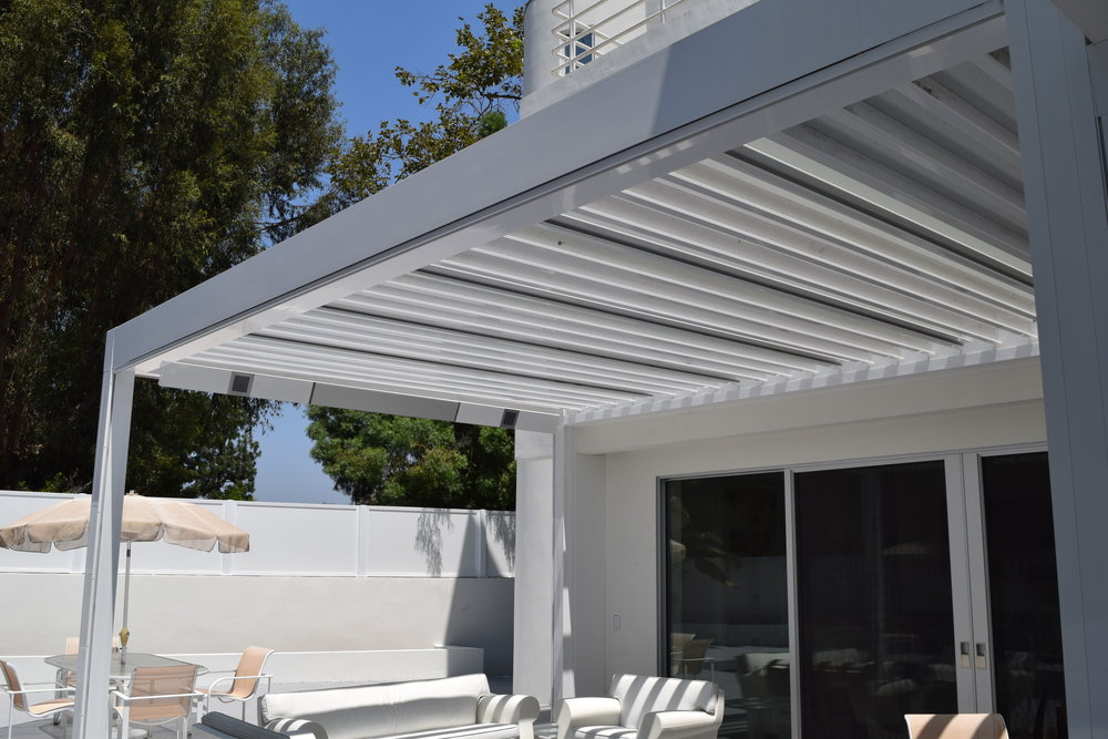 & Louver Awnings u2014 Specialty Window Treatments