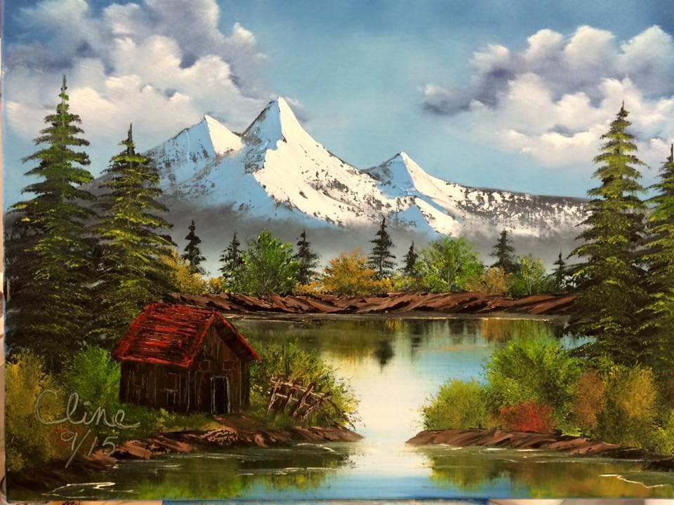 """Mountain Reflections"""