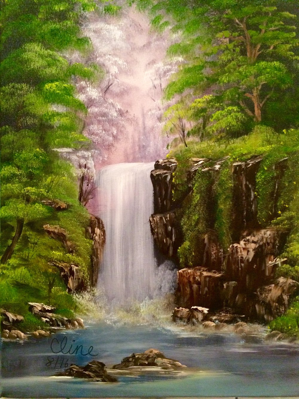 """""""Waterfall in the Woods"""""""