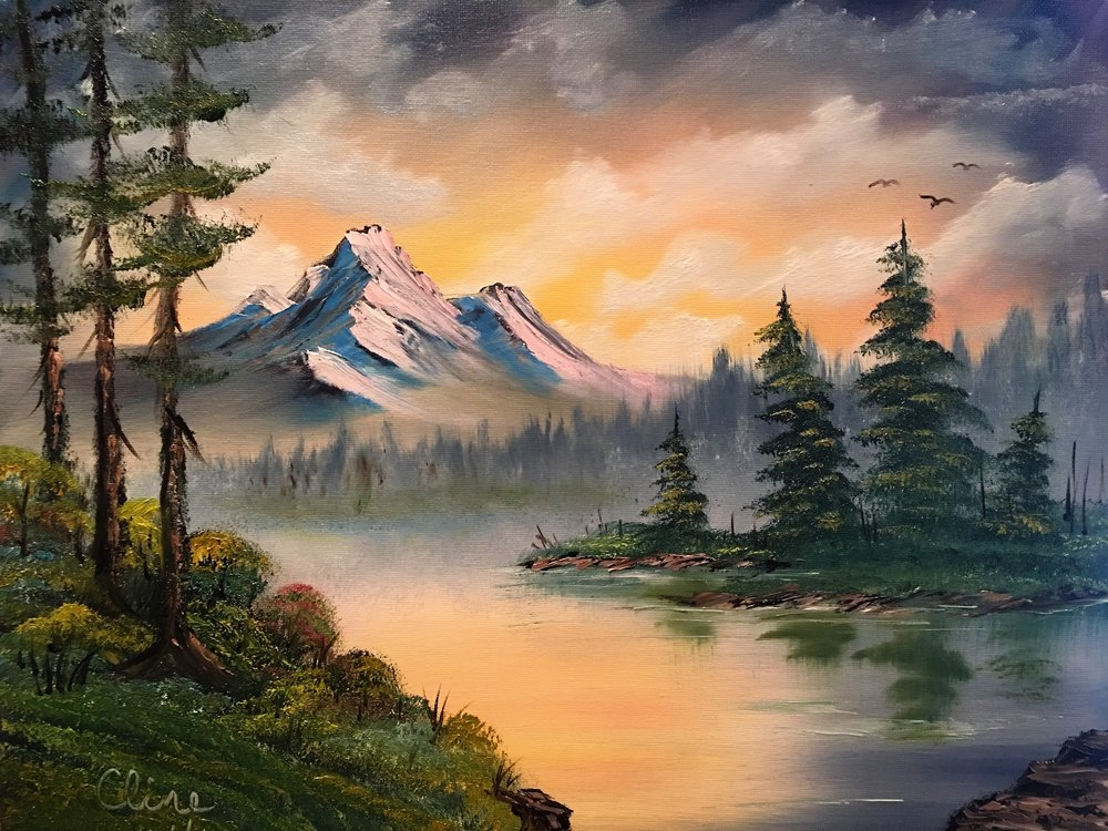 """Mountain Sunrise"""
