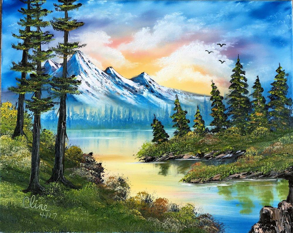 """Mountain Sunrise"""