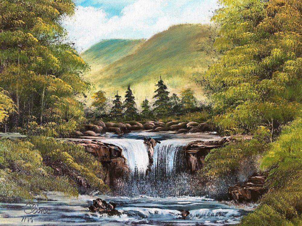 """Blue Ridge Falls"""