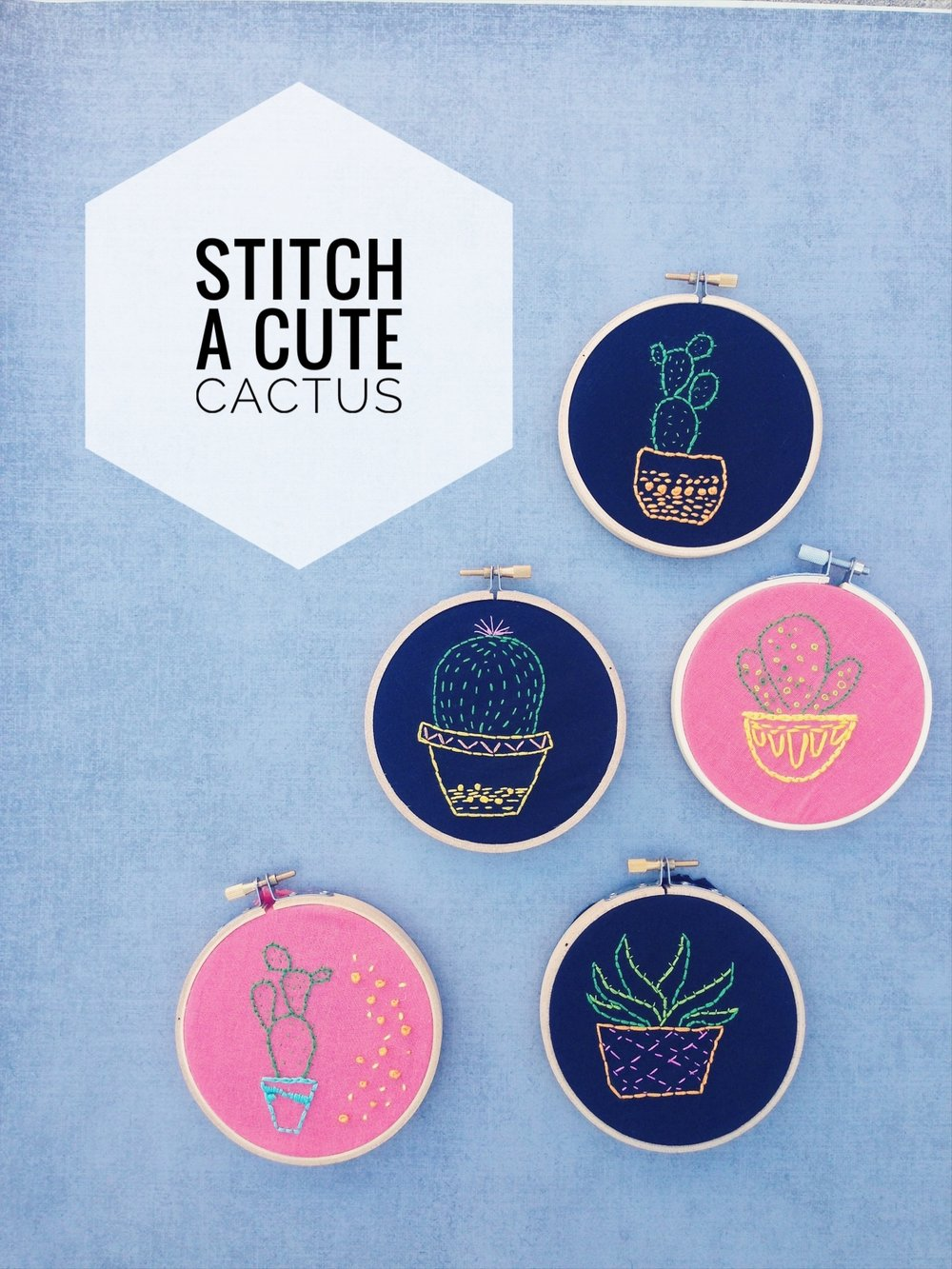 Embroidery :: Mini Mint :: Pleasure Point